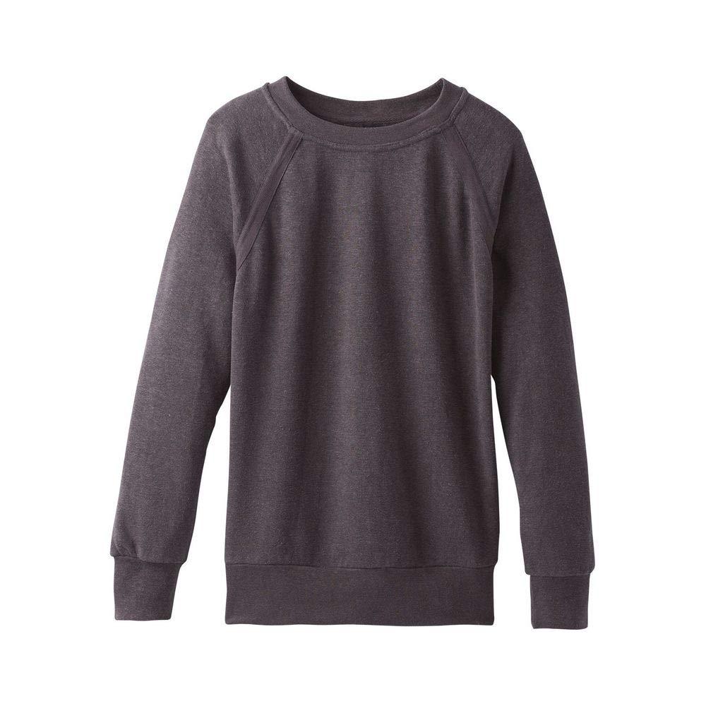 prAna Women's Cozy Up Sweatshirt, Chai Heather, X-Small by prAna