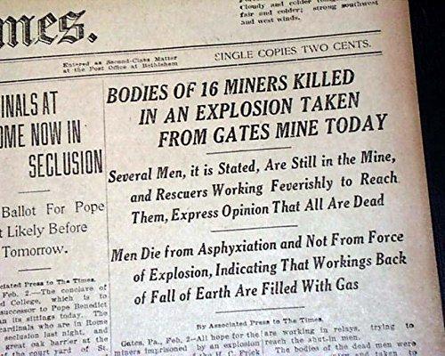Amazon com: GATES Fayette County PA Pennsylvania Mine Mining