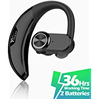 YUWISS Noise Canceling Single Ear Bluetooth Headsets