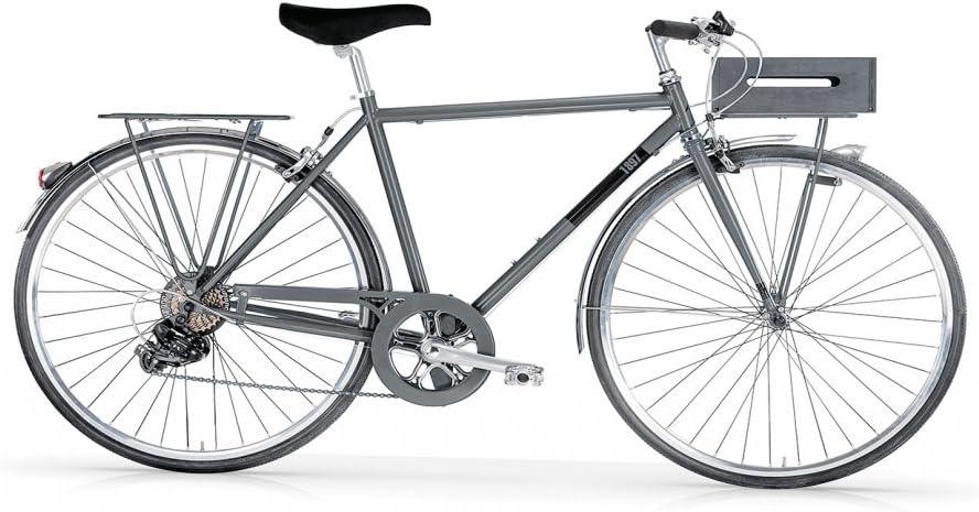 MBM - 1897 RANDONEE - Bicicleta ciudad 28 7s - Antracita ...