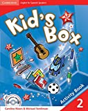 Kid's Box for Spanish Speakers  2 Activity Book with CD-ROM and Language Portfolio - 9788483235904
