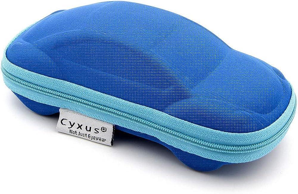 Jungen M/ädchen Herren horizontale Sonnenbrillenbox Gr Cyxus Brillenetui Einheitsgr/ö/ße Sonnenbrille Blue Car Case Brillenetui f/ür Damen tragbar