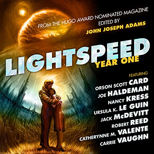 Bargain Audio Book - Lightspeed Year One  From the Hugo Award