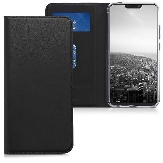 best service 643e6 5c58a Amazon.com: kwmobile Flip Case for Asus Zenfone 5 / 5Z (ZE620KL ...