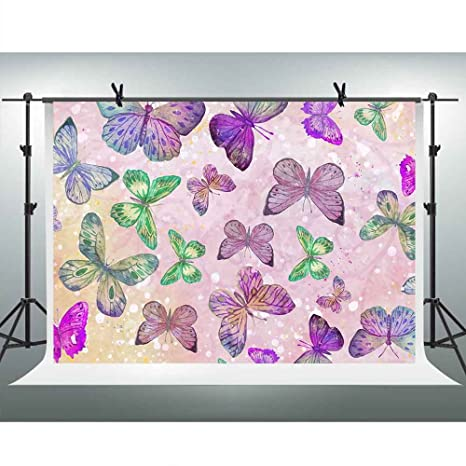 Amazoncom Abstract Butterfly Backgrounds For Photography 10x7ft
