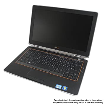 DELL Latitude E6320 34 cm (13,3) Ordenador Portátil (Intel Core i5 2.5 GHz, 4 GB RAM, 160 GB HDD, DVD, Win7 Pro): Amazon.es: Informática