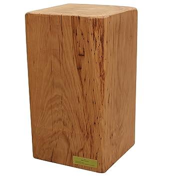 Der Massivholz Hocker Eiche Mit Ihrer Personlichen Gravur Amazon De