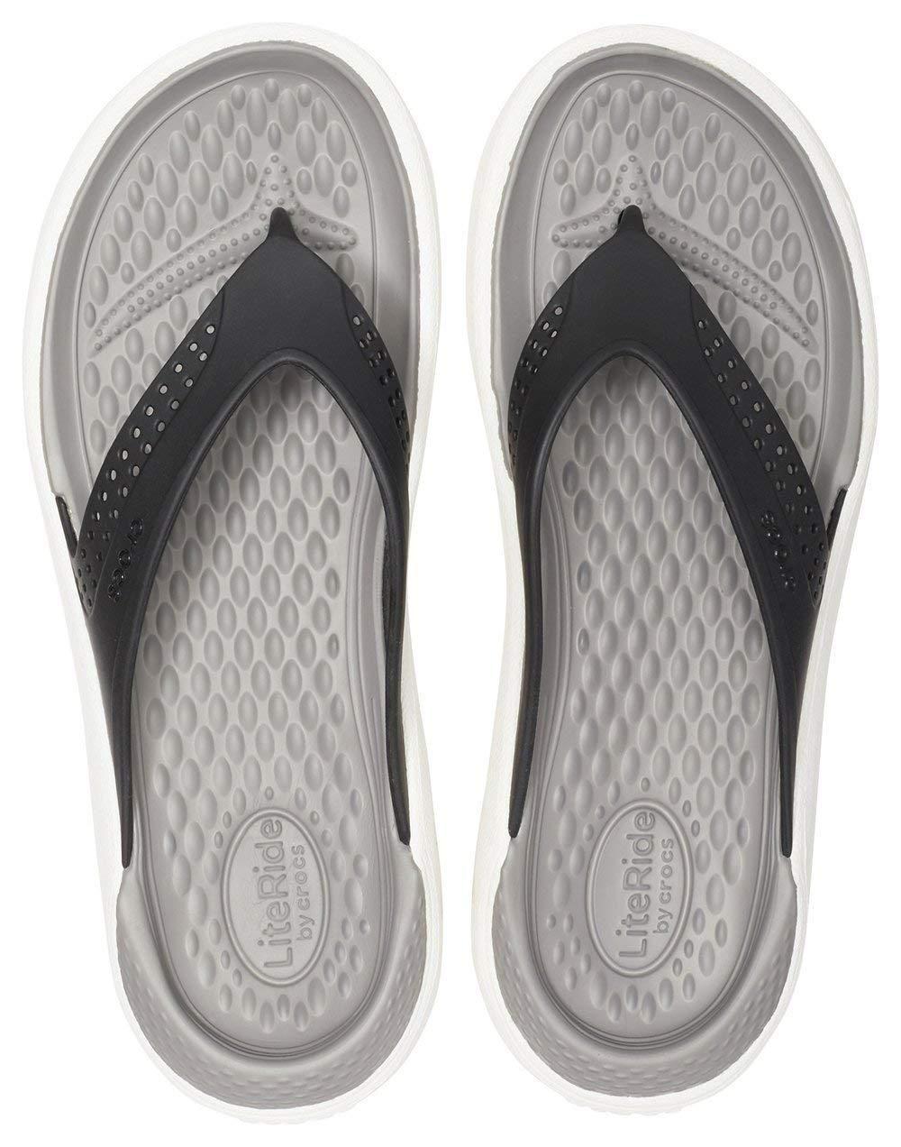 Sandalias Para Tobillo Con Correa Flip Unisex Crocs Literide De n08OmvNwy