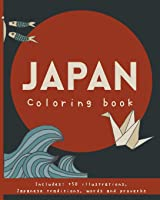 Japan Coloring Book.: Japanese Proverbs &