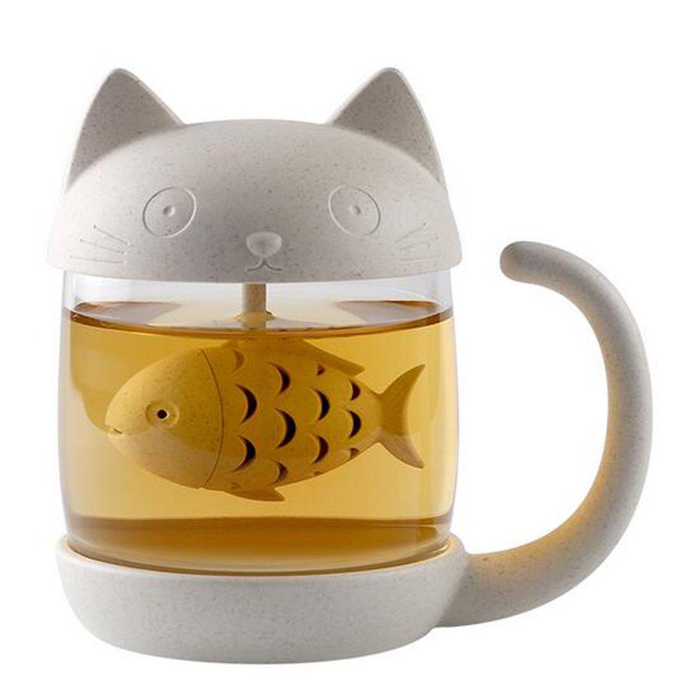 Cutie Cat Tea pot set for Home decoration HKJYCstore