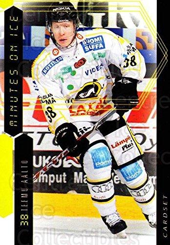 fan products of (CI) Teemu Aalto Hockey Card 2010-11 Finnish Cardset Minutes On Ice 7 Teemu Aalto