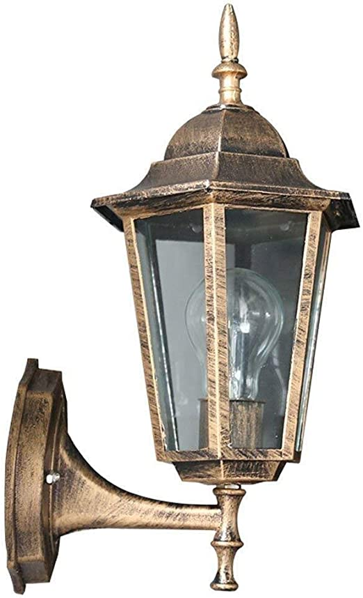 LILIS lámpara de Pared Apliques Apliques al Aire Libre, Luces de jardín Impermeables Apliques Puertas Exteriores Lluvia Jardín Balcón escaleras: Amazon.es: Hogar
