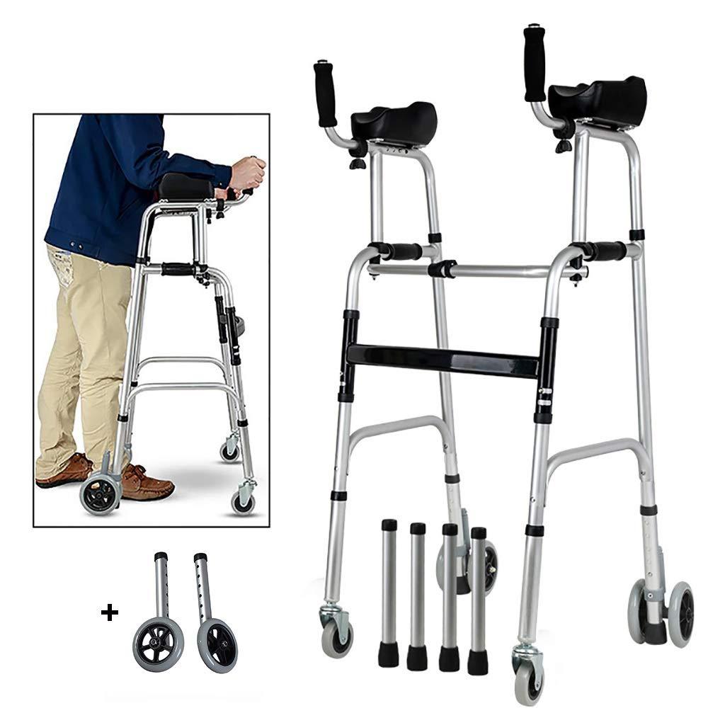 PAPOS DIDS - Marco de Aluminio Plegable para Caminar, con ...