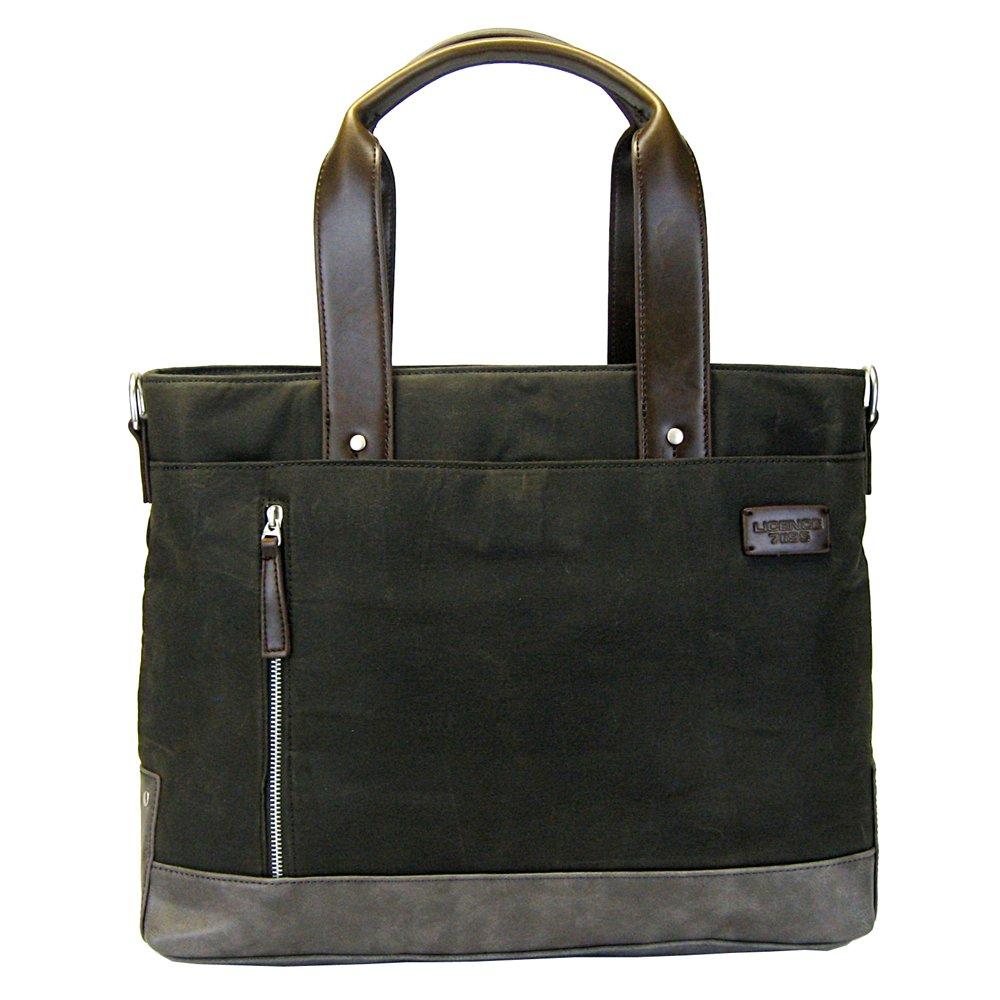 Khaki LICENCE 71195 College WaxC Tote Bag