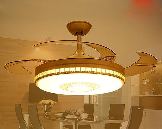 Sdkky lampada ventola ristorante ventilatore da soffitto