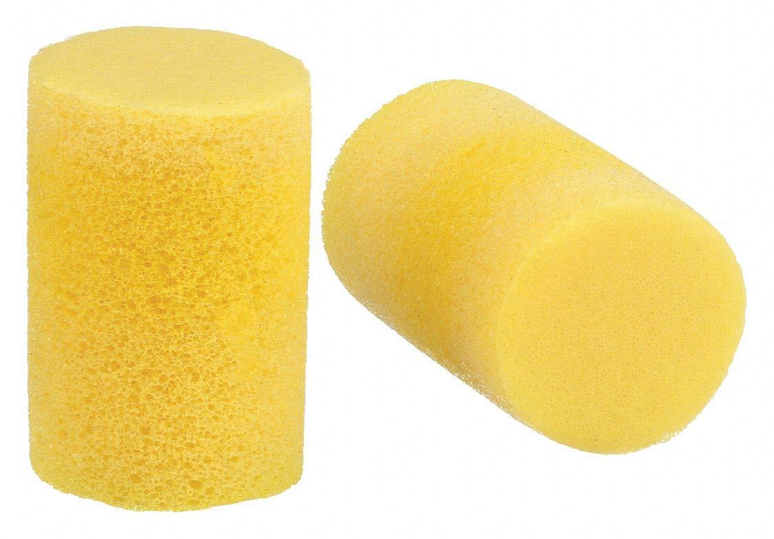 Tapones para los oídos, 70, amarillo, cilindro, caja, Pk500 ...