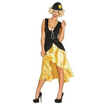 Traje flapper mujer Vestido años veinte L 42/44 Ropa Gatsby chicas Fiesta temática 20s