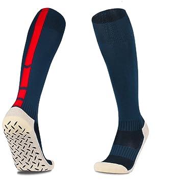 zhaoaiqin Engrosamiento, Calcetines de fútbol, Medias, Modelos para Hombre, Calcetines
