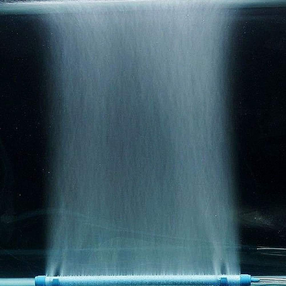 Ogquaton /7//10//14 Pulgadas Acuario Pecera Piedra de Burbujas de Aire Bomba de ox/ígeno Tubo de conexi/ón con Ventosa Azul 7 Pulgadas Durable y pr/áctico