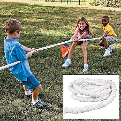 Oalas Tug of War Rope for School Office Family Games Parties Activities