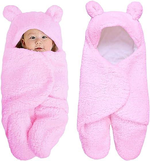 cuigu recién nacido niña niño ropa para bebé, manta de bebé Wrap ...