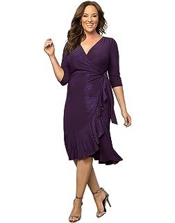 fb08467259 Amazon.com  Kiyonna Women s Plus Size Class Act Cocktail Dress 4X ...