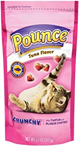 J.M Smucker Company-Big Heart Pounce Tartar Control Crab Tuna Cat Food, 1Count, One Size