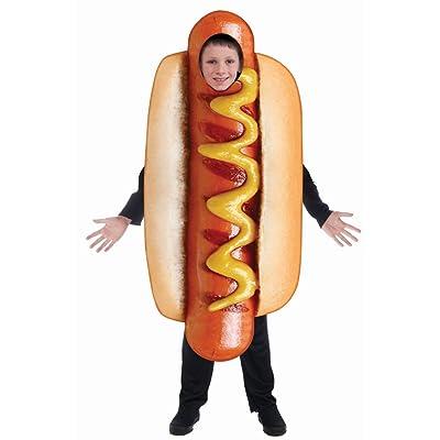 Forum Novelties Inc - Kids Sublimation Hot Dog Costume Costume: Clothing