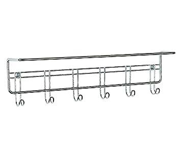 ClosetMaid 3064 6 Hook Towel Rack, Chrome