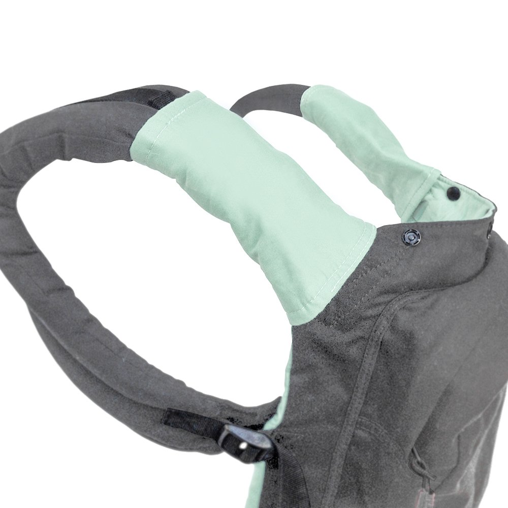 TwinGo Carrier Teething/Drool/Chew pads, provides a clean surface for your teething baby (Green)