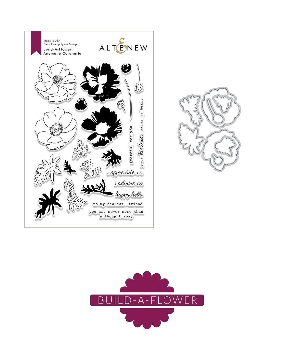 Build-A-Flower: Anemone Coronaria by Altenew