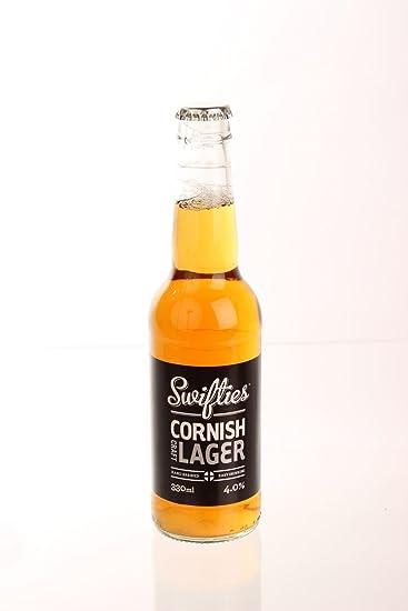 Swifties Cornish Lager - Keltek Brewery (ABV 4 0%): Amazon