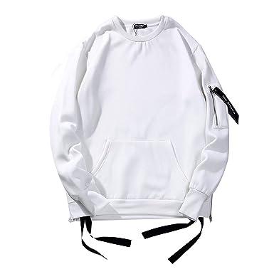 swimstore men side zipper o neck hoodies high street kanye west Kanye West Calabasas swimstore men side zipper o neck hoodies high street kanye west solid sleeve pocket hoodies tops at amazon men s clothing store