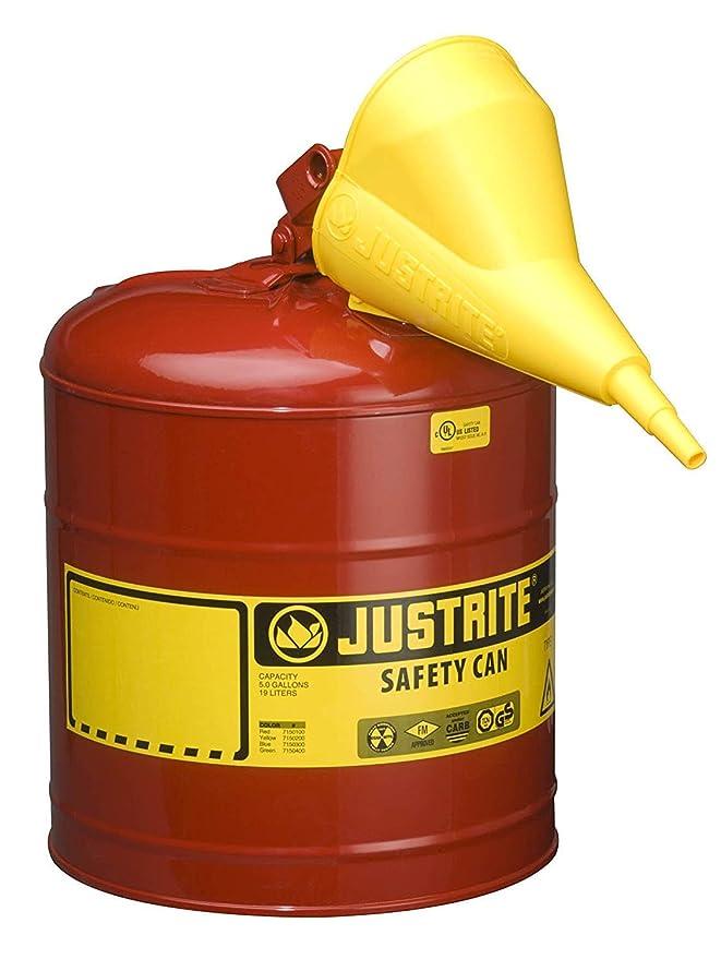 Amazon.com: jus11202y – Embudo JustRite latas de seguridad ...
