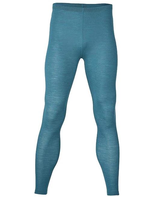 Engel – Camiseta térmica Long Johns/Leggings – 100% Lana de Merino orgánica Turquesa