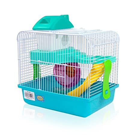 DI ZE LIN PET HOME S.L DZL® Jaula para hamster 27*21*25cm