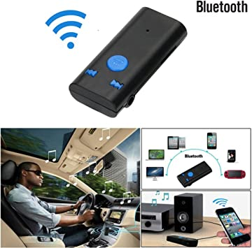 Receptor Bluetooth Wireless btx6 3,5 mm AUX audio estéreo Músicos ...