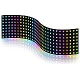 BTF-LIGHTING WS2812B RGB 5050SMD Individually Addressable Digital 8x32 256 Pixels 12.5in x 3.1in LED Matrix Flexible…