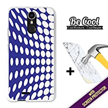 Becool®- Cover Gel Flexible Ulefone Power, [+1 Tempered Glass Screen Protector ], TPU Case made out of Silicone, protects to your Smartphone, with our exclusive designs. 3D dotted wall.
