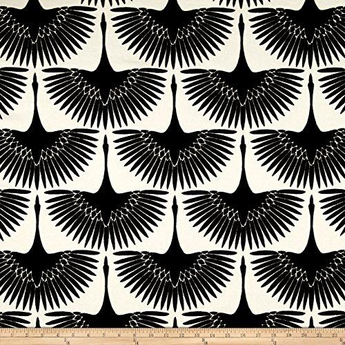 WAVERLY Genevieve Gorder Flock Velvet Fabric, Onyx