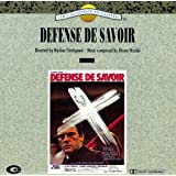 Defense De Savoir