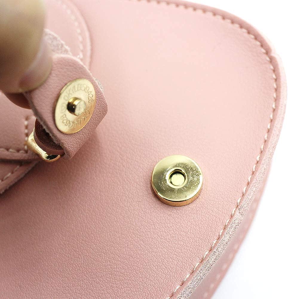 AIBEARTY Kids Girls Mini Crossbody Purse Leather Shoulder Bag with Adjustable Shoulder Strap