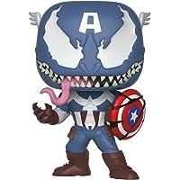 Funko Figure Pop Marvel Venom Captain America , Multicolor