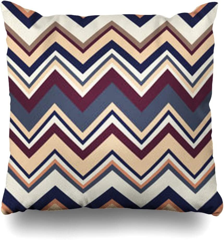 Throw Pillow Cover 70S Geometric