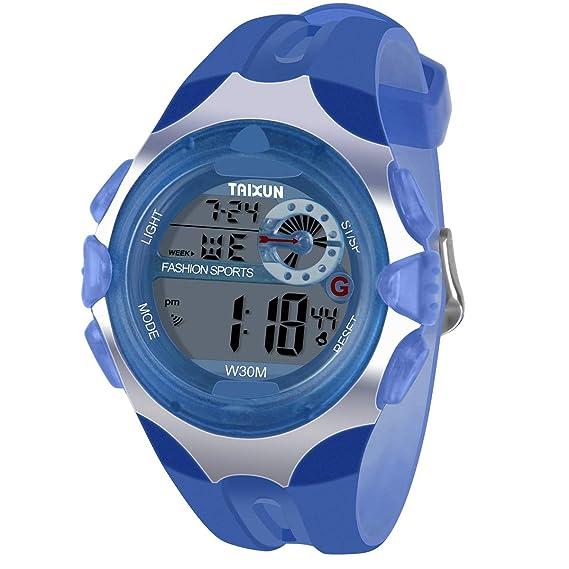 Children's Watches Fashion Top Brand Luxury Child Kids Students Silicone Alarm Date Week Digital Jelly Wrist Watch Gift