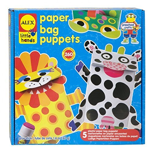 Alex Little Hands Paper Bag Puppets - 4