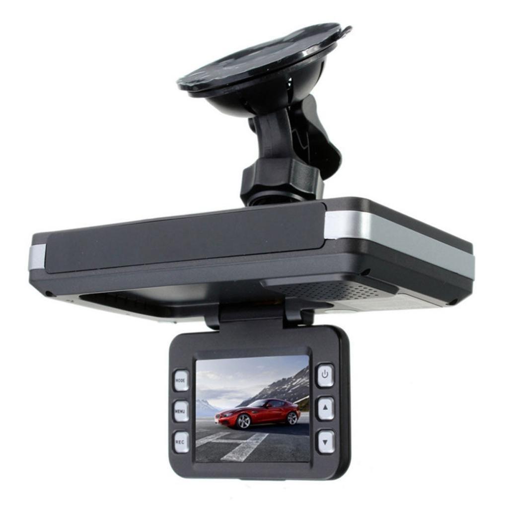 taottao 2 en 1 multifunción 5 MP coche DVR grabadora + Radar Detector de velocidad Trafic alerta Inglés: Amazon.es: Deportes y aire libre