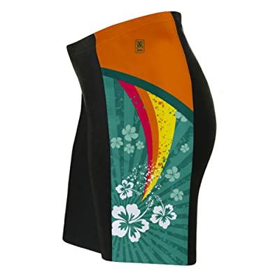 Tropical Fission Triatlon Shorts for Women