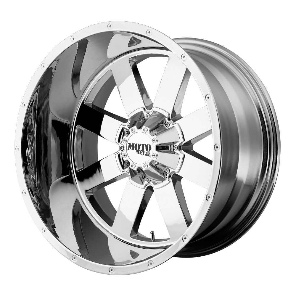 Amazon Com Moto Metal Mo962 Wheel With Chrome Finish 20x12 8x6 5