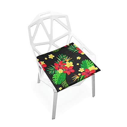 PLAO Chair Pads Tiger Leopard Soft Seat Cushions Nonslip Chair Mats For  Dining, Patio,